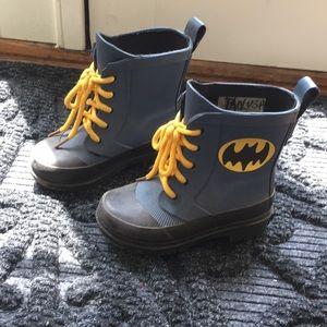 Baby Gap Junk Food Batman Rain boots